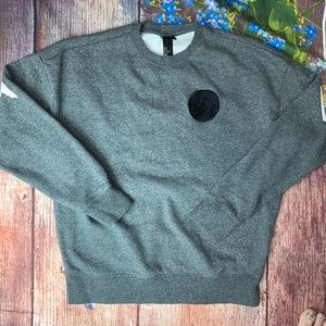 """H&M """"We Can Own It"""" Gray Sweatshirt Size Small"""